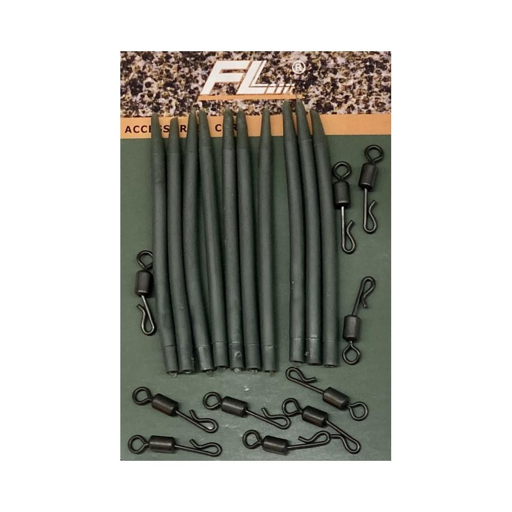Комплект за монтаж FL Anti-tangle Sleeves and Swivels
