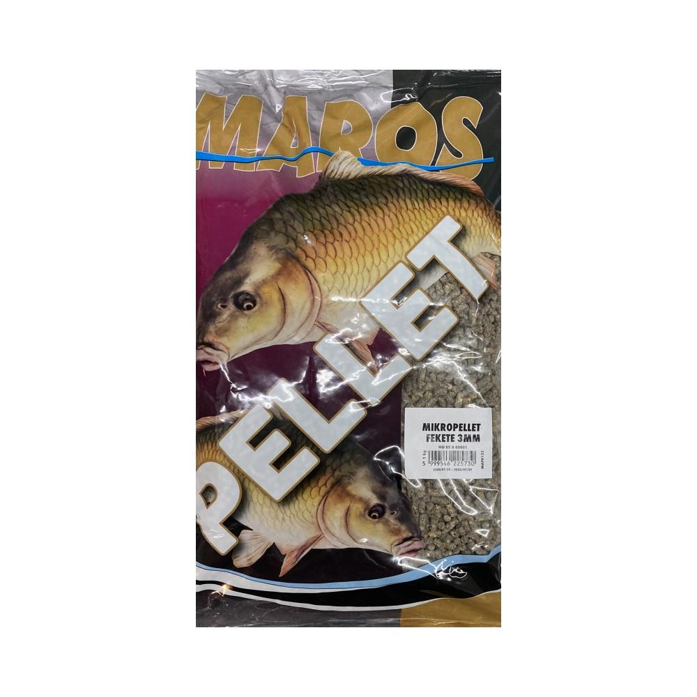 Пелети Maros Mix Micropellet Black Fekete 3mm