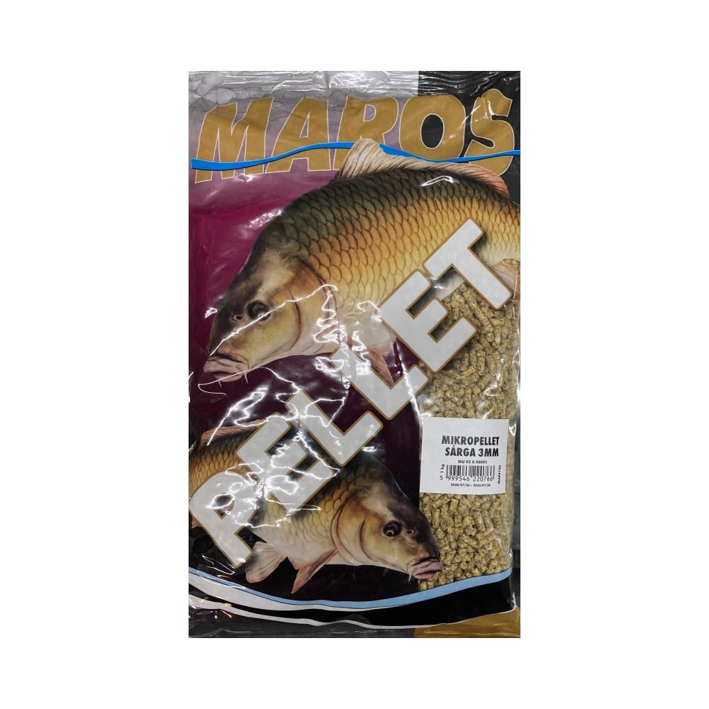 Пелети Maros Mix Micropellet Yellow Sarga 3mm