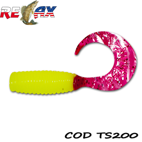 Силиконов туистер Relax Twister Standart TS200