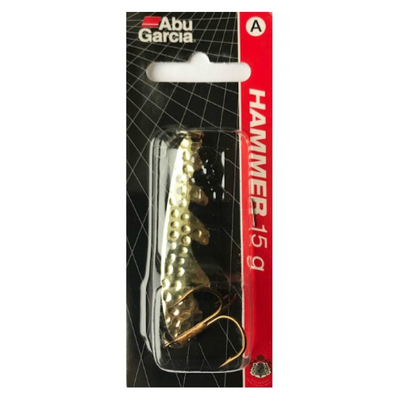 Блесна клатушка Abu Garcia Hammer Gold/Black 15g