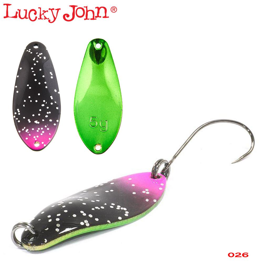 Блесна клатушка Lucky John CLEO
