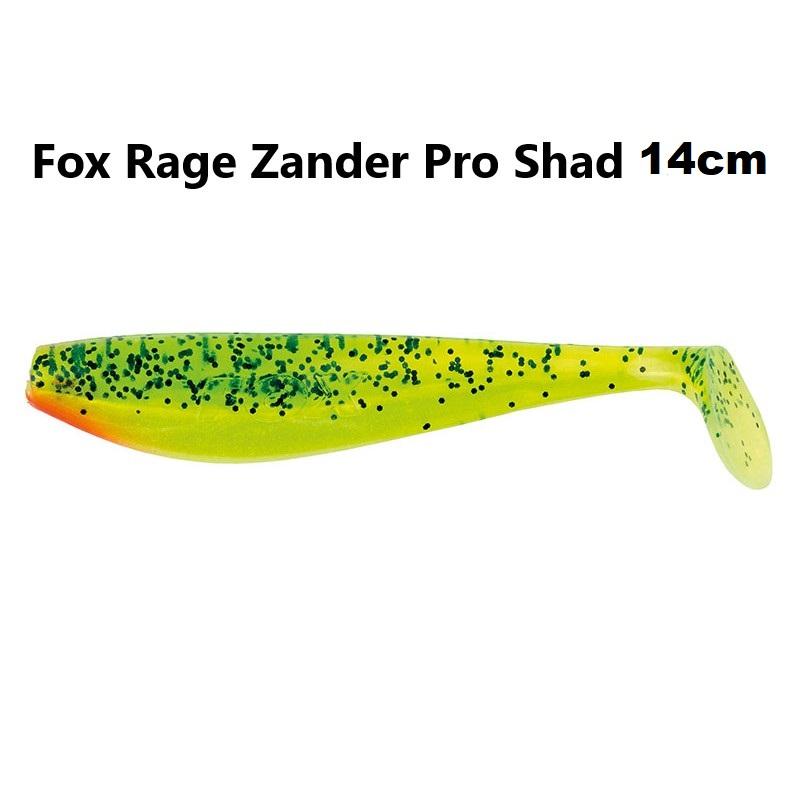 Силиконова примамка Fox Rage Zander Pro Shad 14cm
