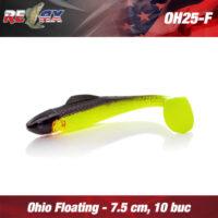 Силиконова примамка Relax Ohio 7.5см Floating