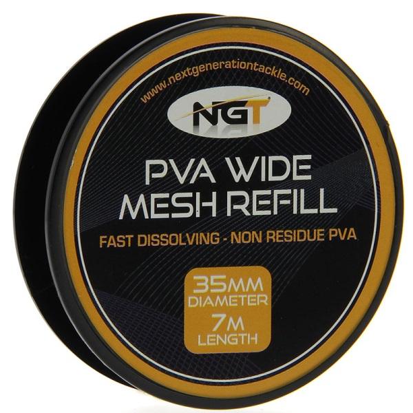 PVA ръкав-ролка NGT PVA Refill Narrow 35mm 7m