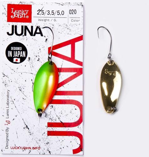Блесна клатушка Lucky John JUNA 2.5g 020