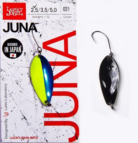 Блесна клатушка Lucky John JUNA 2.5g 021