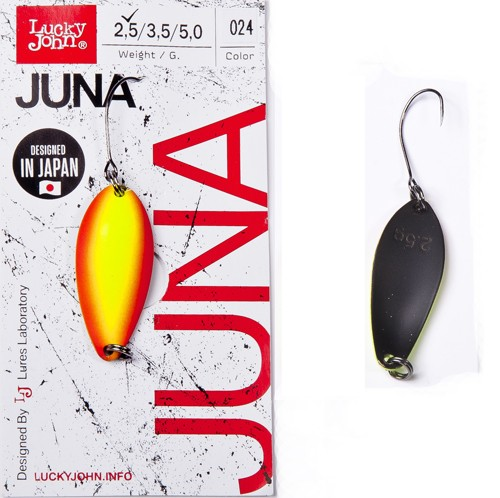 Блесна клатушка Lucky John JUNA 2.5g 024