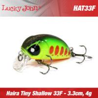 Воблер Lucky John Haira Tiny Shallow Pilot 33F New