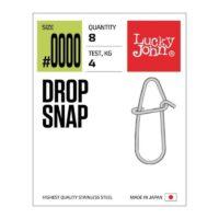 Карабинка с контра Lucky John Drop Snap LJP5125