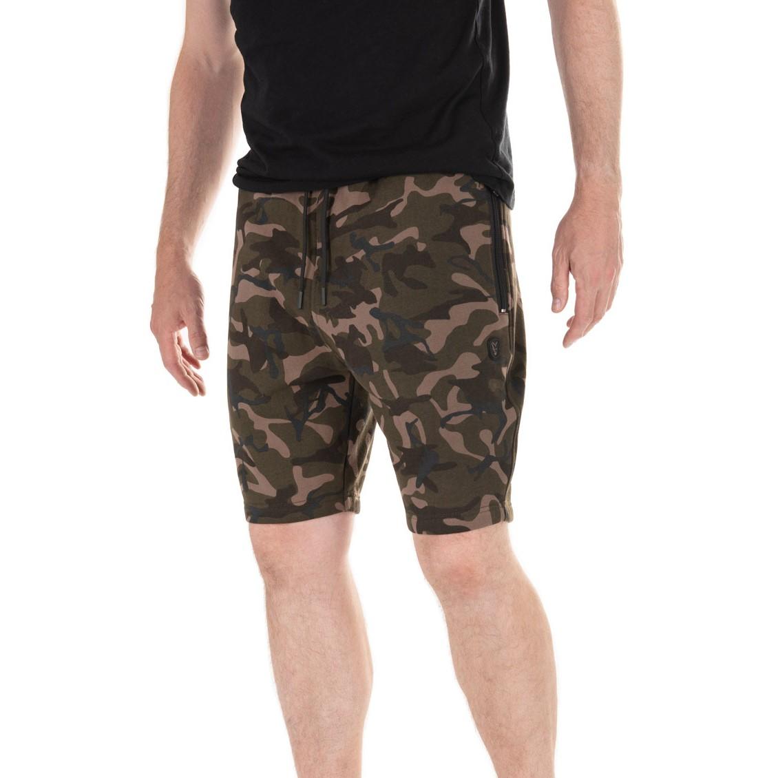 Къси панталони Fox Camo Khaki Jogger Shorts