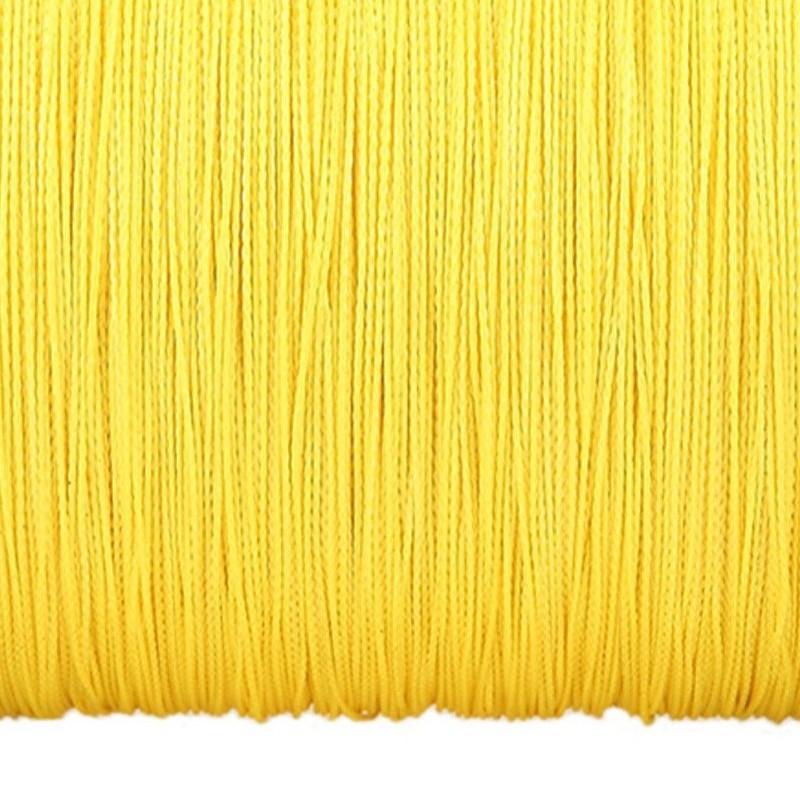Плетено влакно York Taipan Yellow 150м