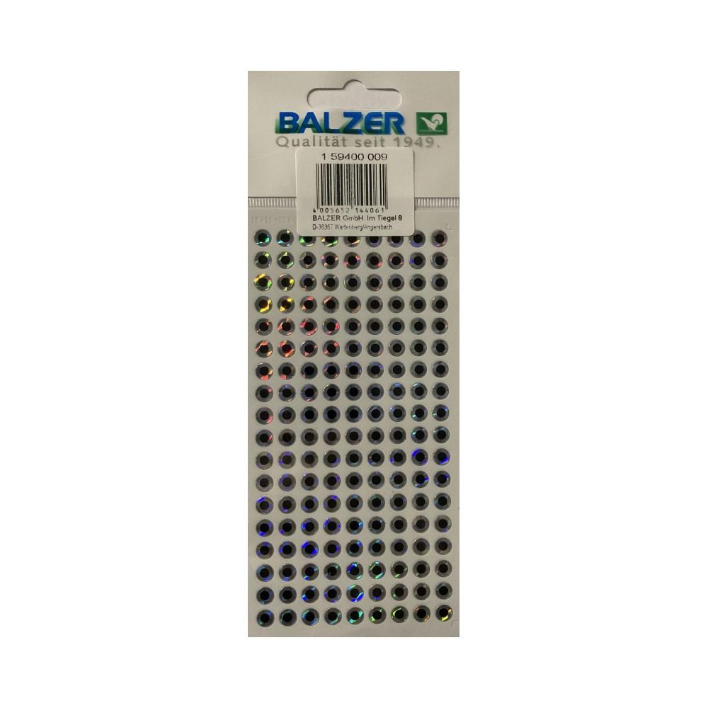 Холограмно фолио за блесни Balzer Reflex Folie - очи