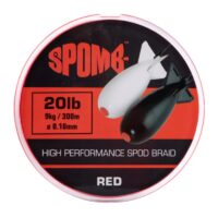 Плетено влакно Spomb Braid Red 300m