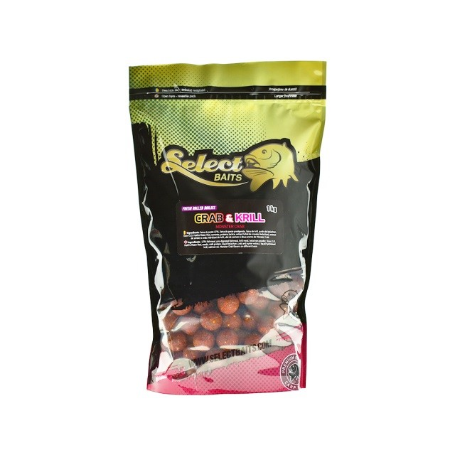 Протеинови топчета Select Baits Crab and Krill 1kg
