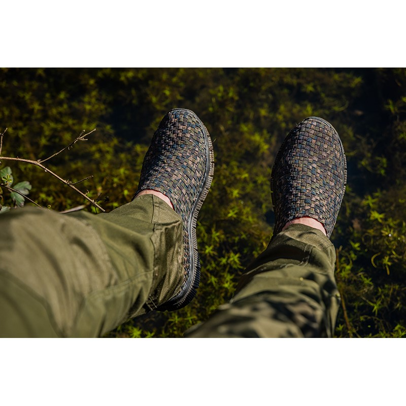 Обувки Fox Camo Mesh Trainers