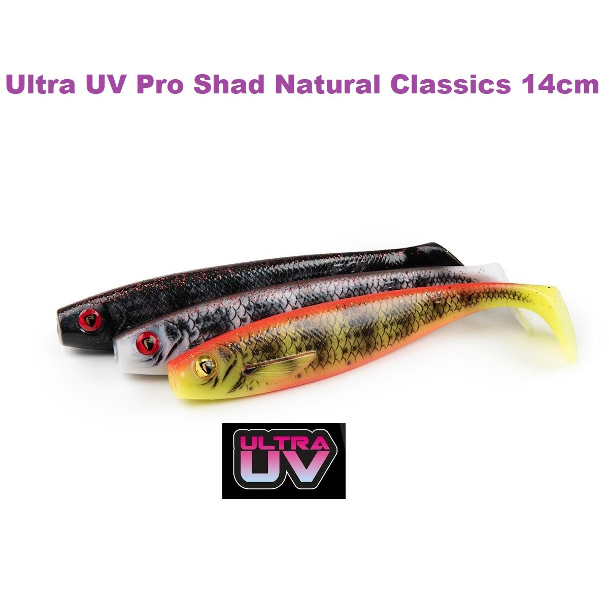 Fox Rage Ultra UV Pro Shad Natural Classics 14cm