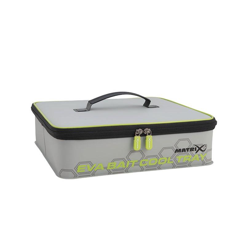Хладилна чанта Matrix EVA Bait Cool Tray Light Grey Inc. 4 Tubs