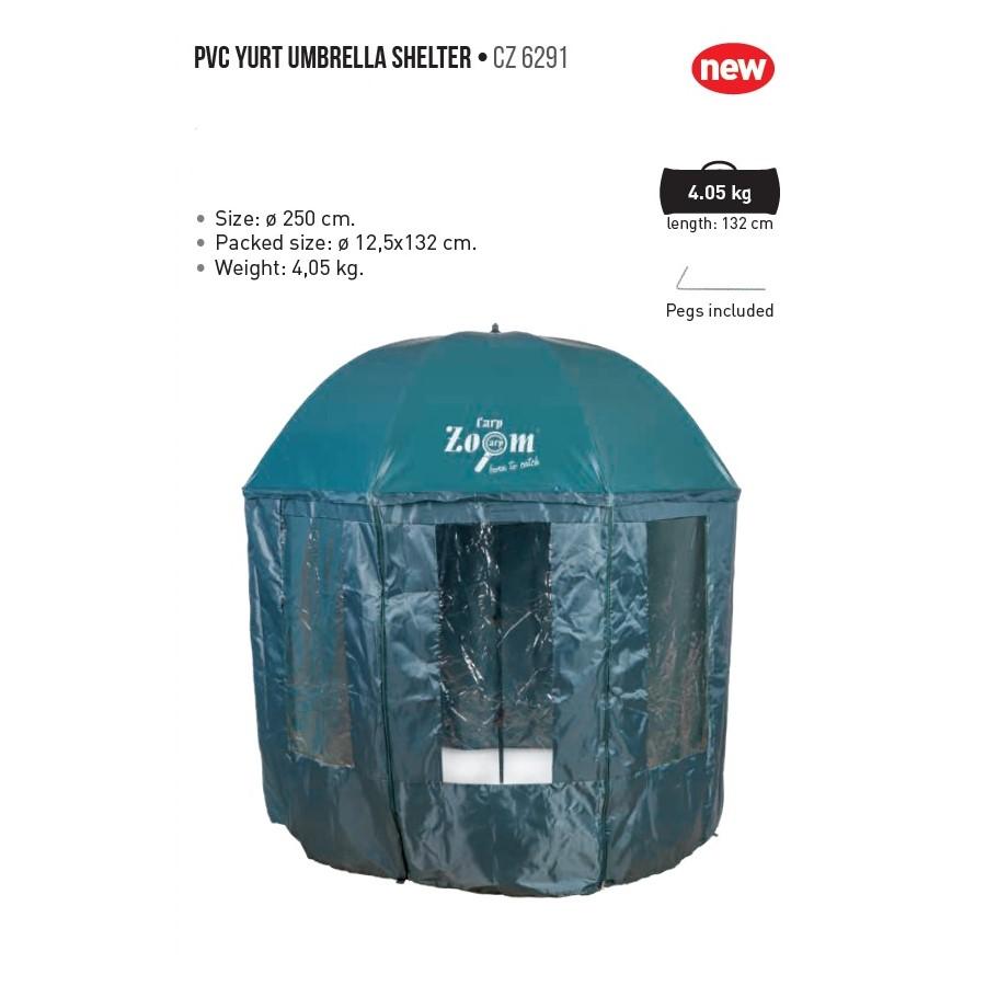 Чадър с тента CZ PVC Yurt Umbrella Shelter 250cm
