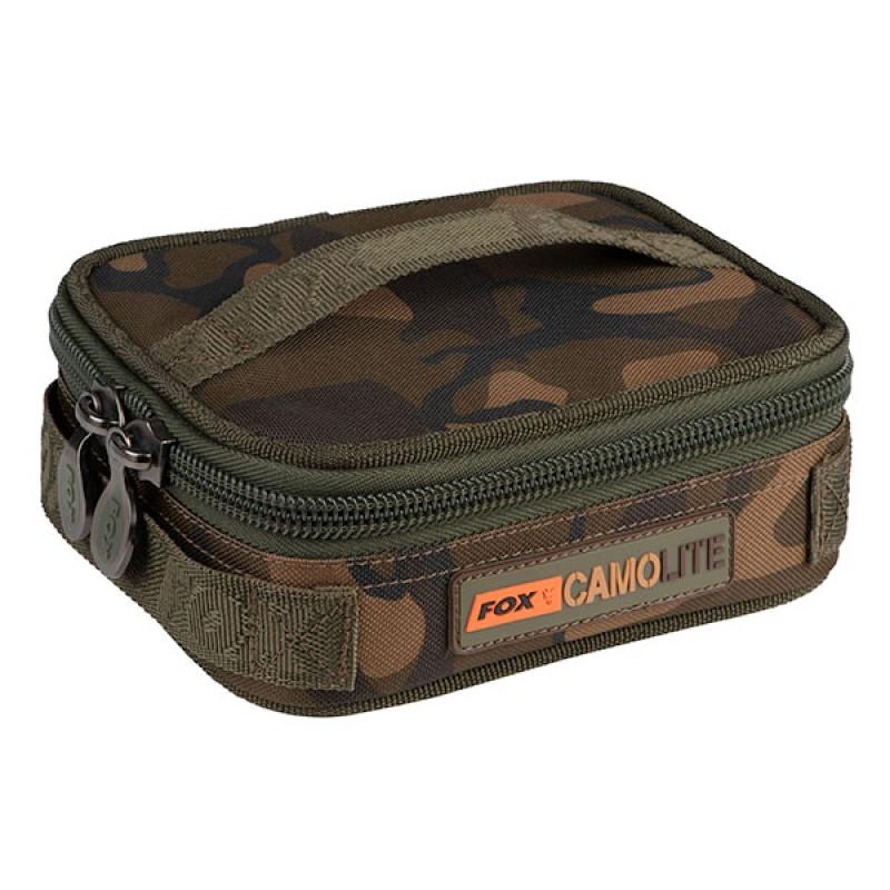 Чанта за олово Fox Camolite Compact Rigid Lead & Bits Bag