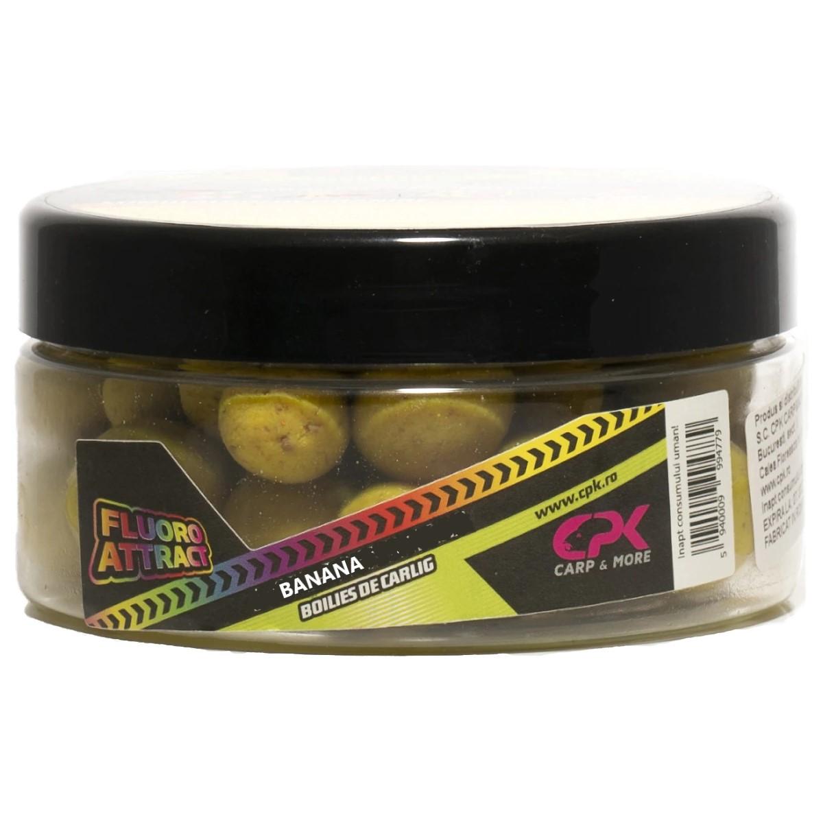 CPK Fluoro Attract Banana 16-20mm протеинови топчета в дип