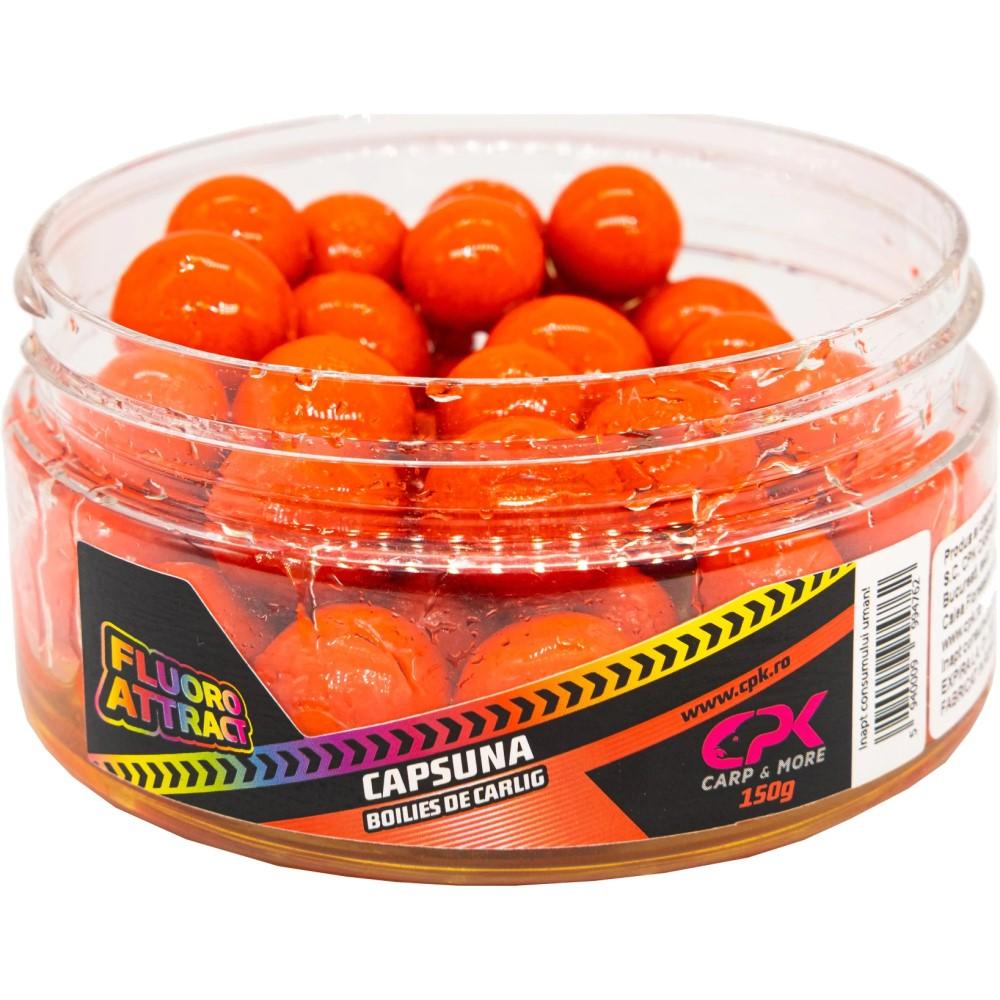 CPK Fluoro Attract Capsuna 16-20mm протеинови топчета в дип