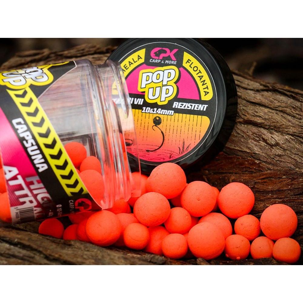 CPK Pop-Up High Attract Capsuna 10-14mm плуващи топчета