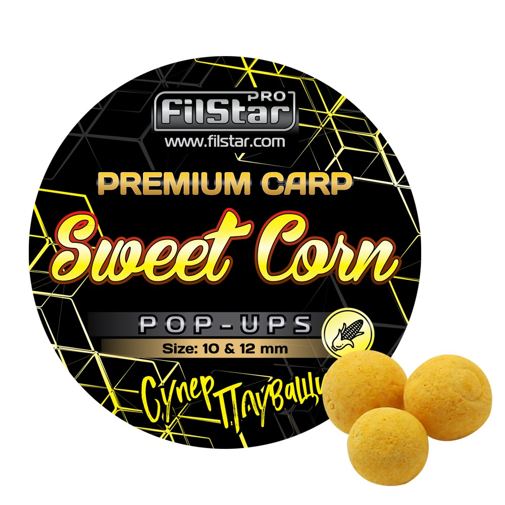 Pop-Ups FilStar Premium Carp Sweet Corn
