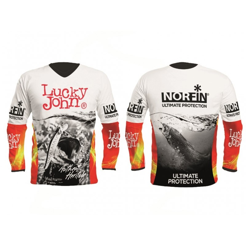 Блуза Norfin & Lucky John PRO TEAM Shirt White