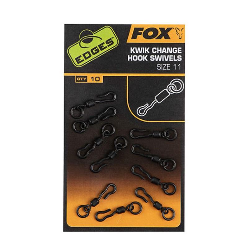 Бърза връзка Fox Kwik Change Hook Swivel Size 11