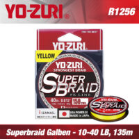 Плетено влакно Yo-Zuri Super Braid Yellow 4x