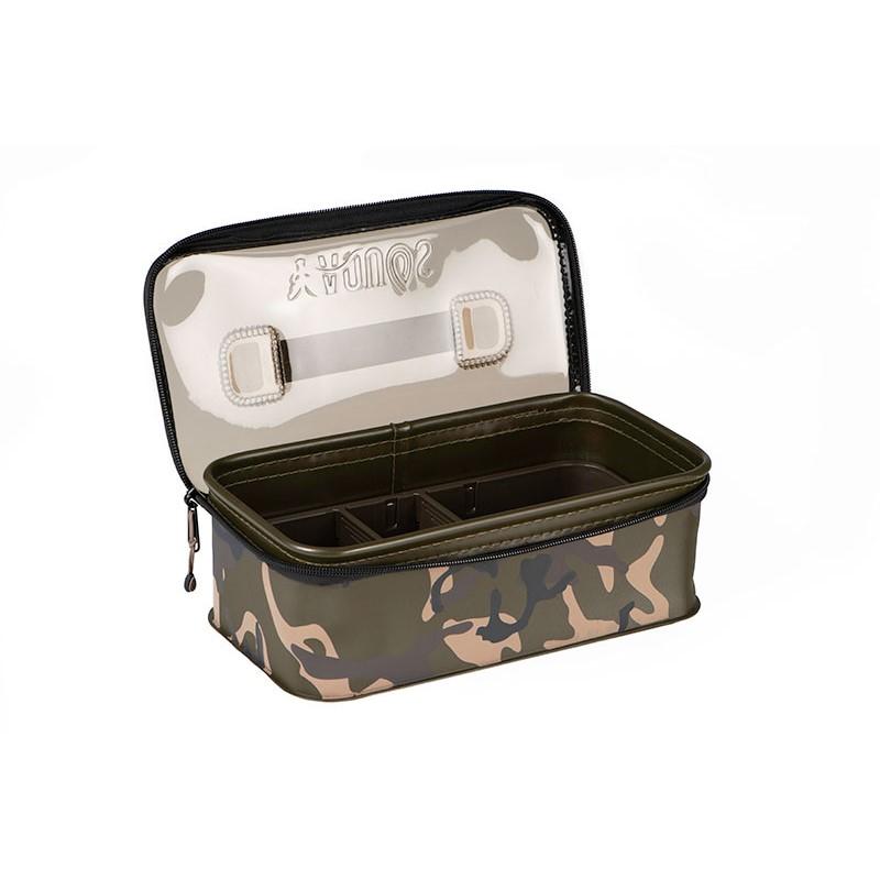 Чанта за риболовни аксесоари Fox Aquos Camolite EVA Rig Box and Tackle Bag