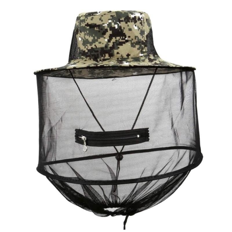 Шапка с мрежа против комари Mosquito Head Net