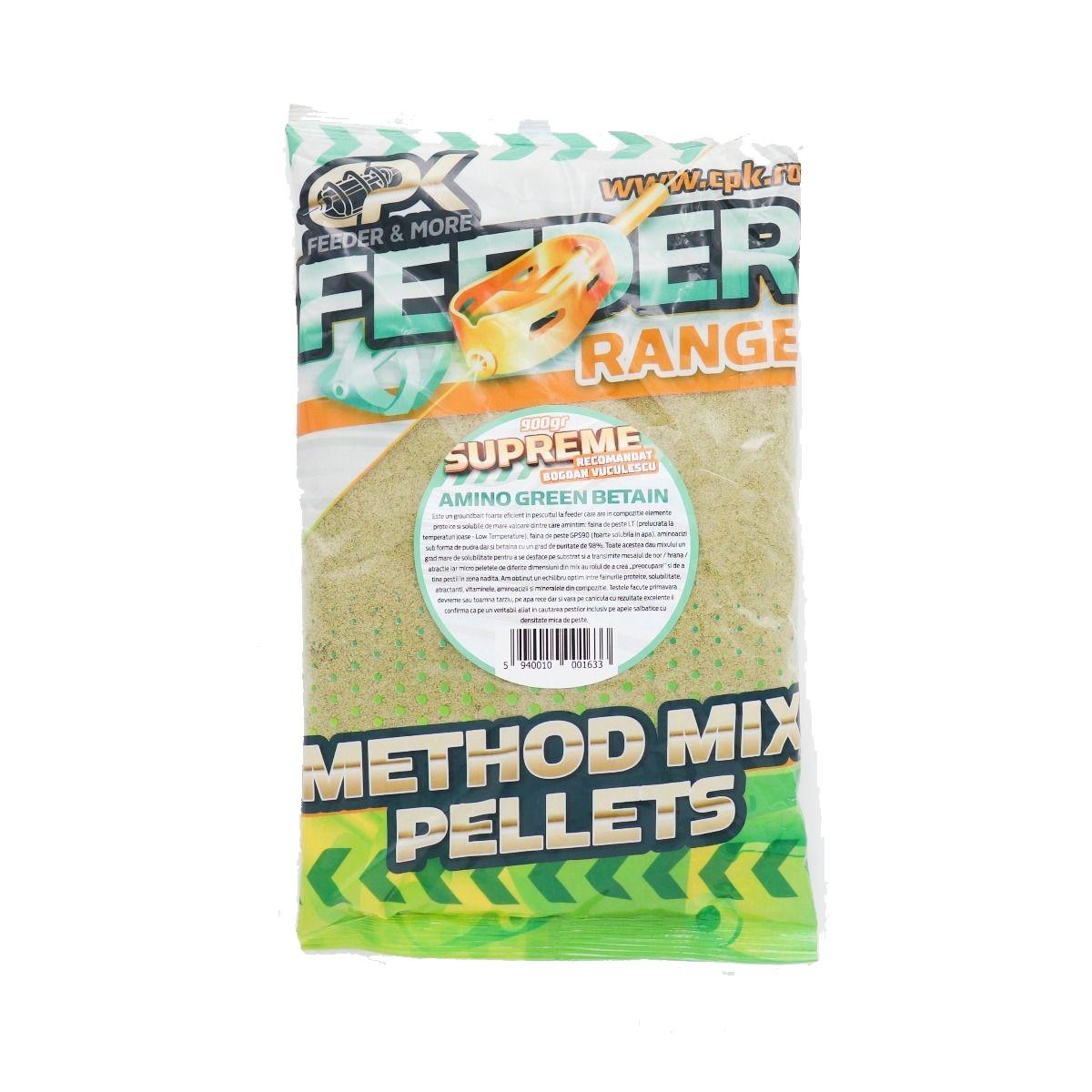 Захранка CPK Method Feeder Supreme Amino Green Betain