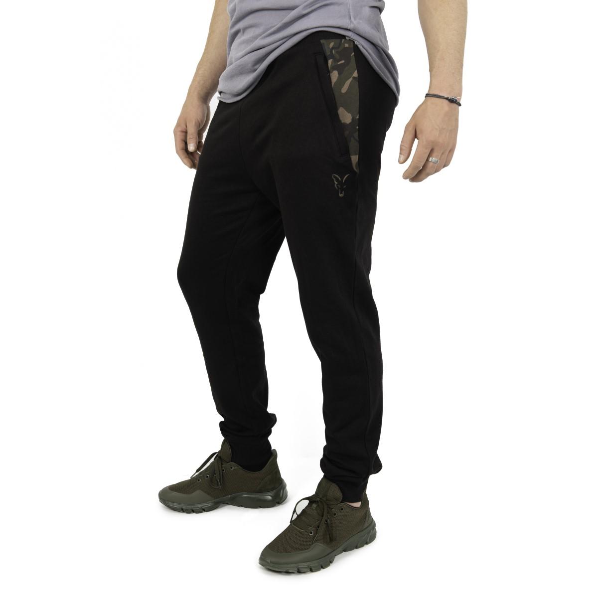Панталони Fox LW Black/Camo Print Jogger