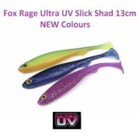 Силиконова примамка Fox Rage Ultra UV Slick Shad 13cm NEW