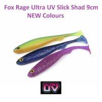 Силиконова примамка Fox Rage Ultra UV Slick Shad 9cm NEW