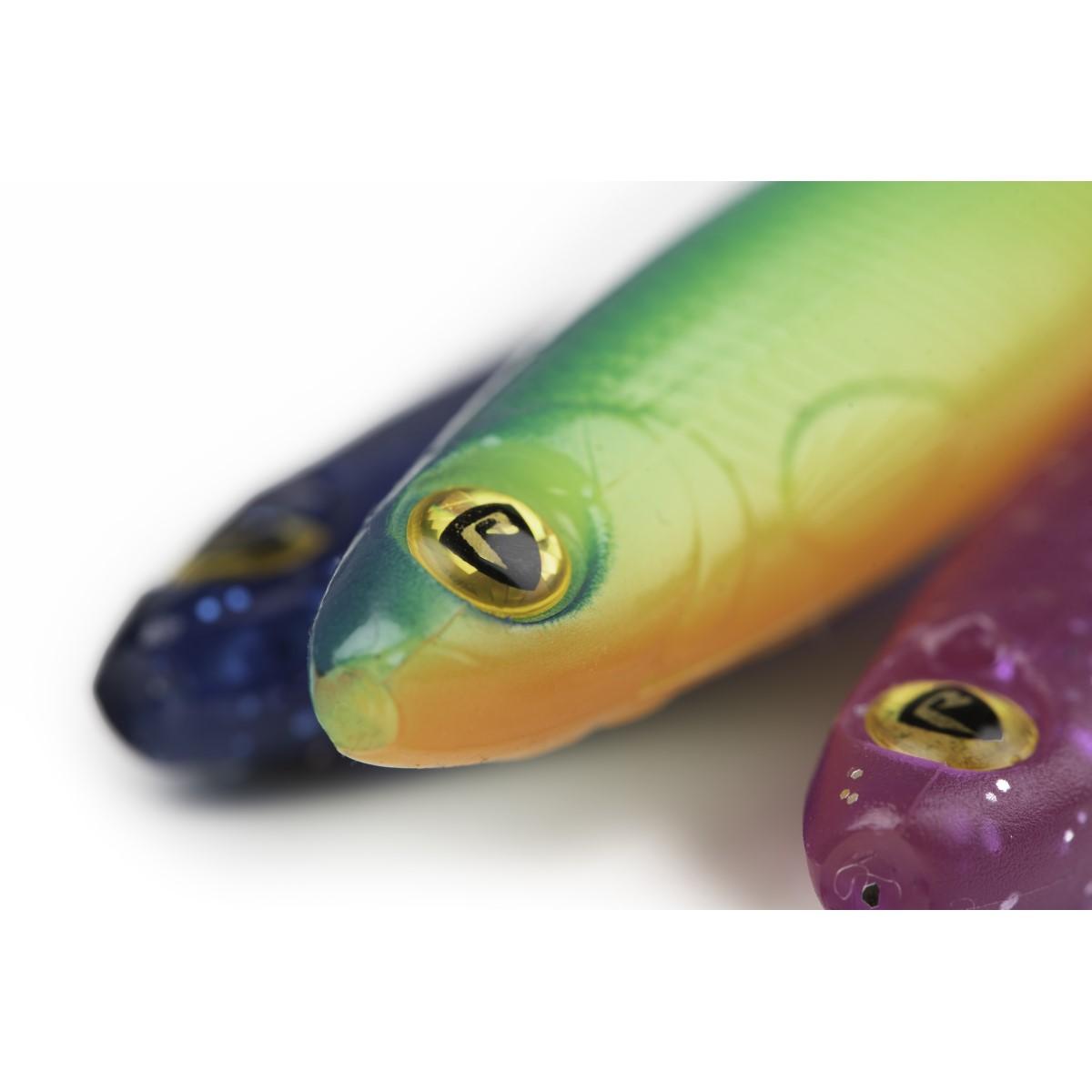 Силиконова примамка Fox Rage Ultra UV Slick Shad NEW Colours