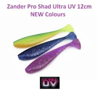 Силиконова примамка Fox Rage Zander Pro Shad Ultra UV 12cm NEW