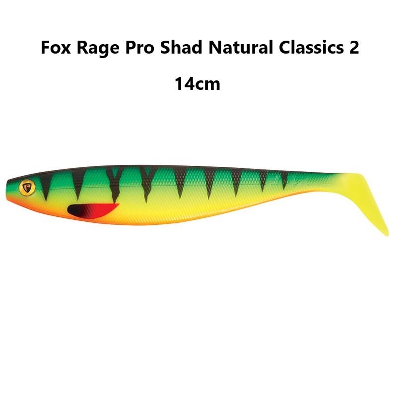 Силиконова рибка Fox Rage Pro Shad Natural Classics 2 – 14см