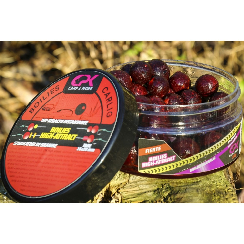 CPK Boilies Fierte Scoica Robin Red 16-20mm дипнати топчета