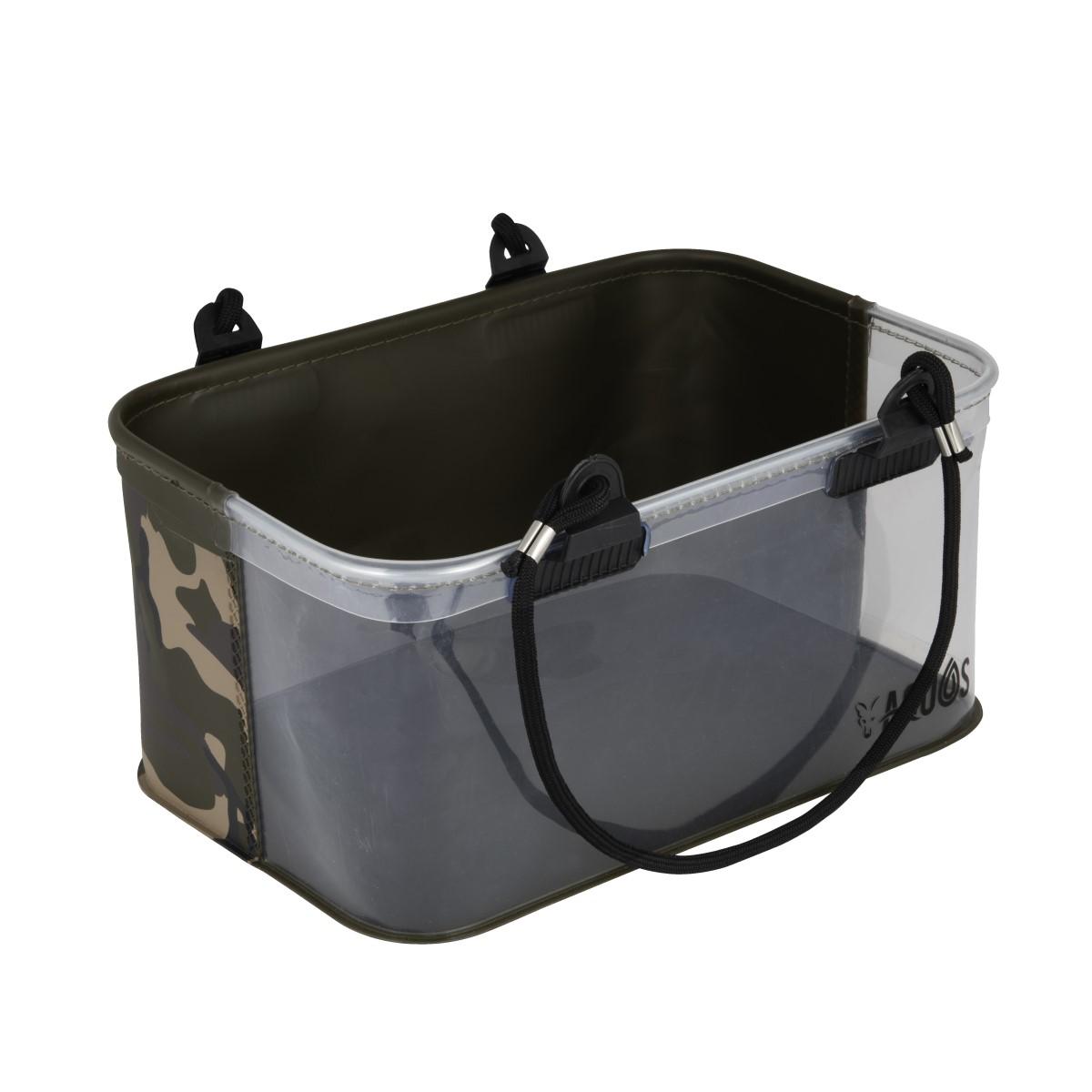 Кофа за риболов Fox Aquos Camo Rig Water Bucket