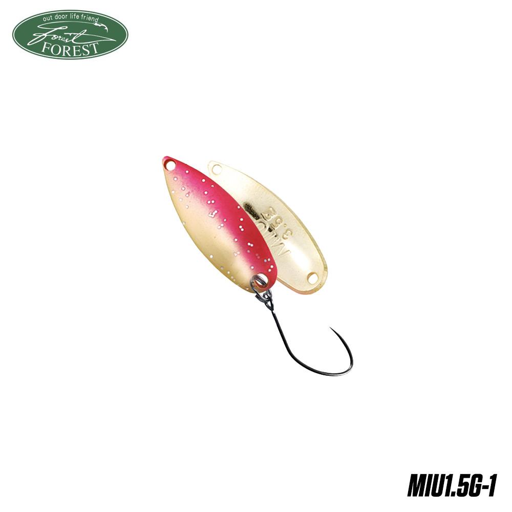 Блесна клатушка Forest MIU 1.5g col.1