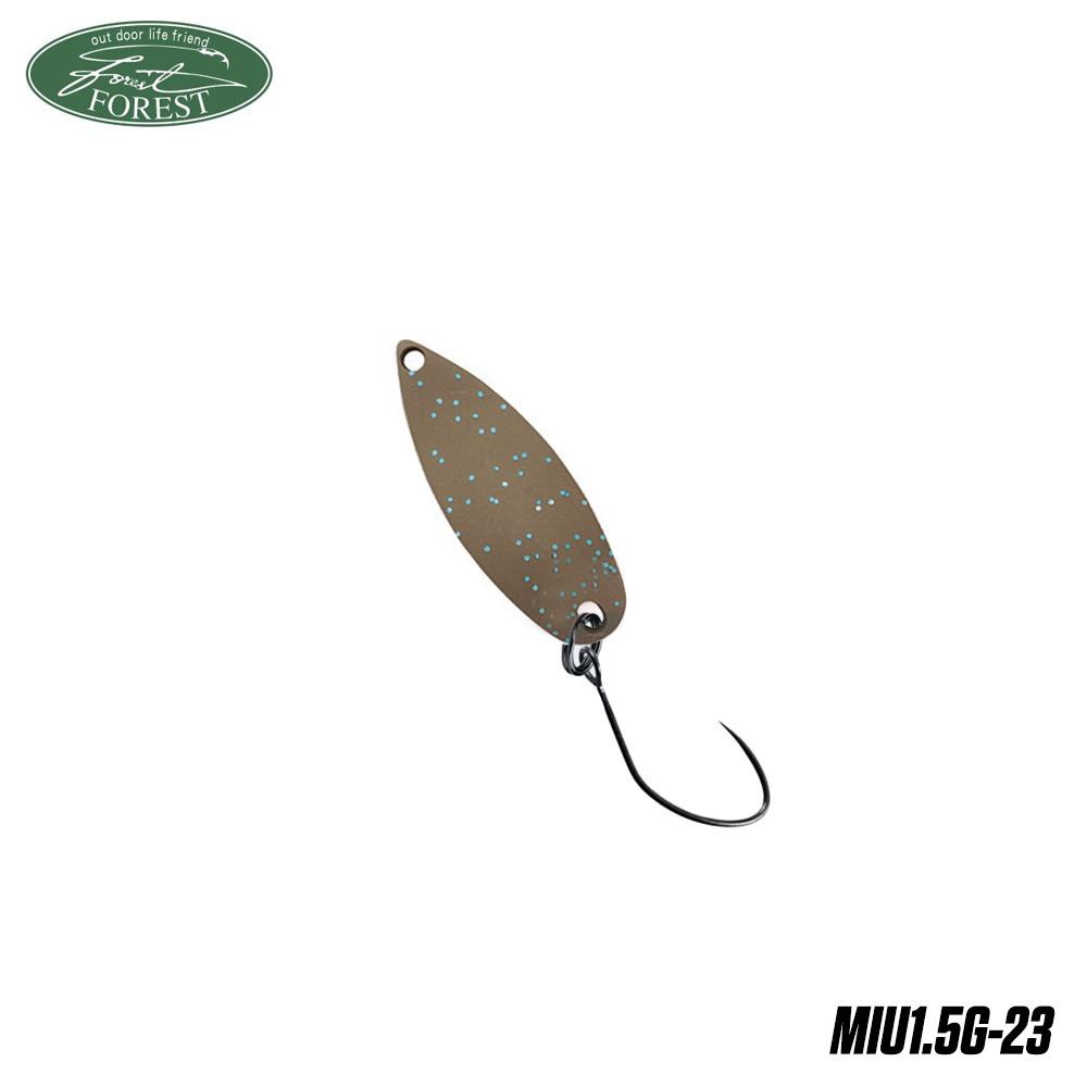 Блесна клатушка Forest MIU 1.5g col.23