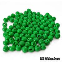 Волфрамово утежнение Fudo Tungsten Slotted Beads Fluo Green