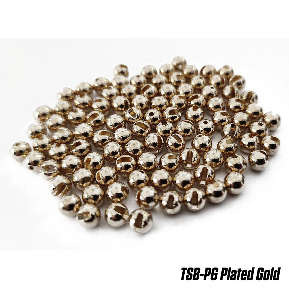Волфрамово утежнение Fudo Tungsten Slotted Beads Plated Gold