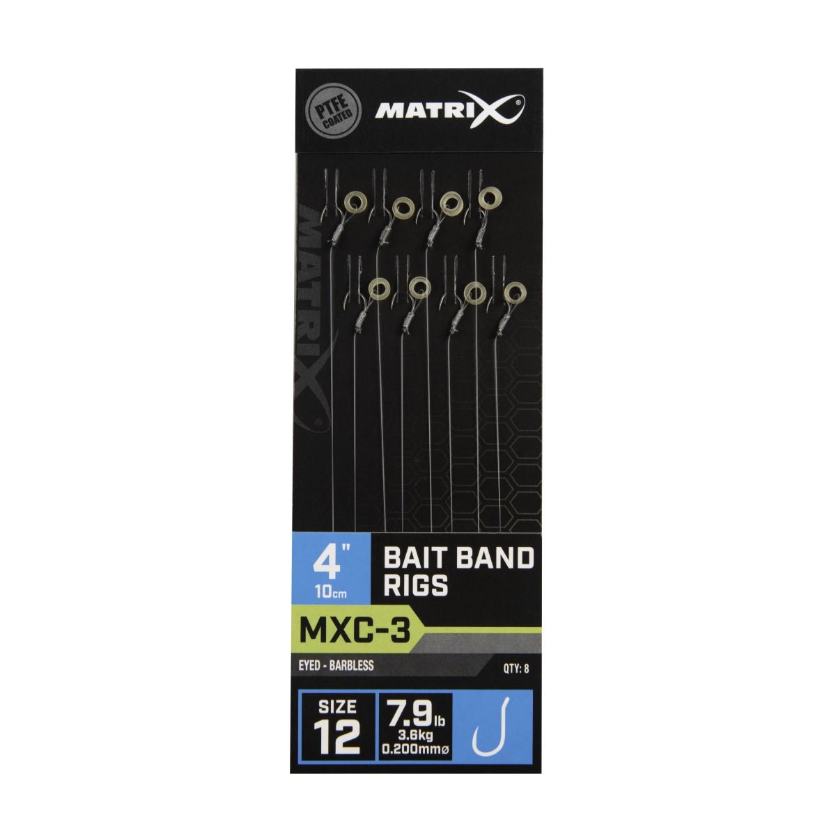 Вързани куки Matrix MXC-3 Bait Band Rigs 10cm №12
