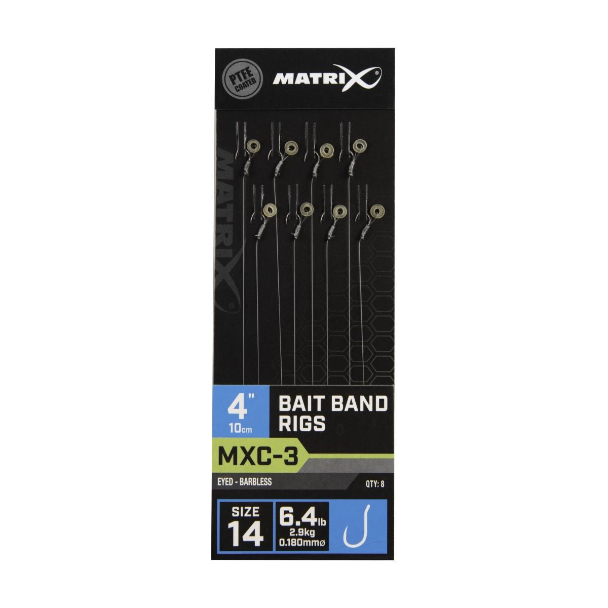 Вързани куки Matrix MXC-3 Bait Band Rigs 10cm №14