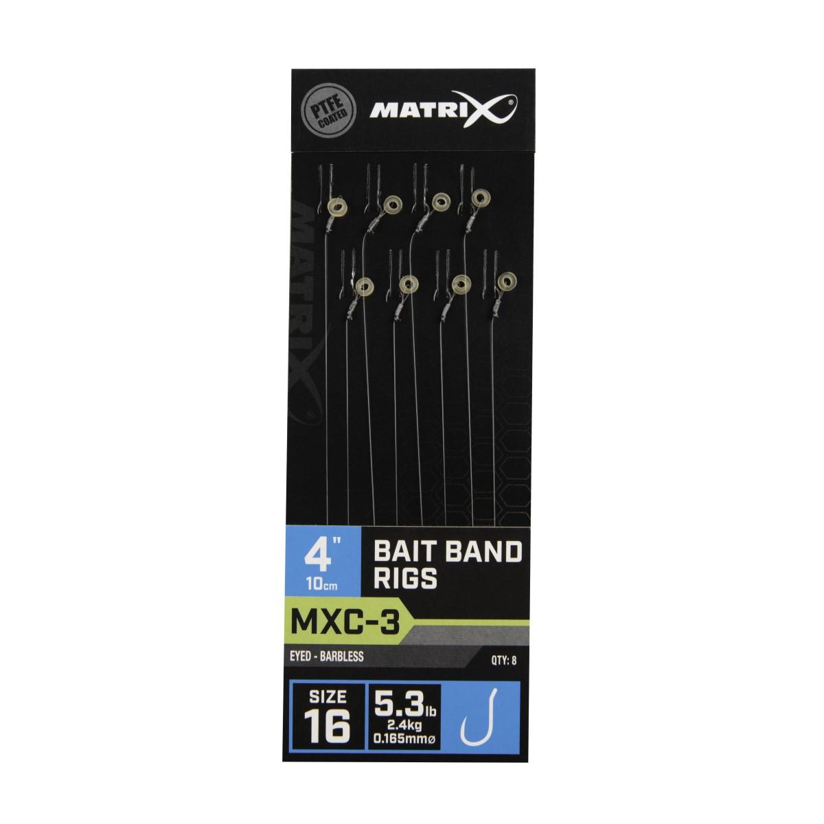 Вързани куки Matrix MXC-3 Bait Band Rigs 10cm №16