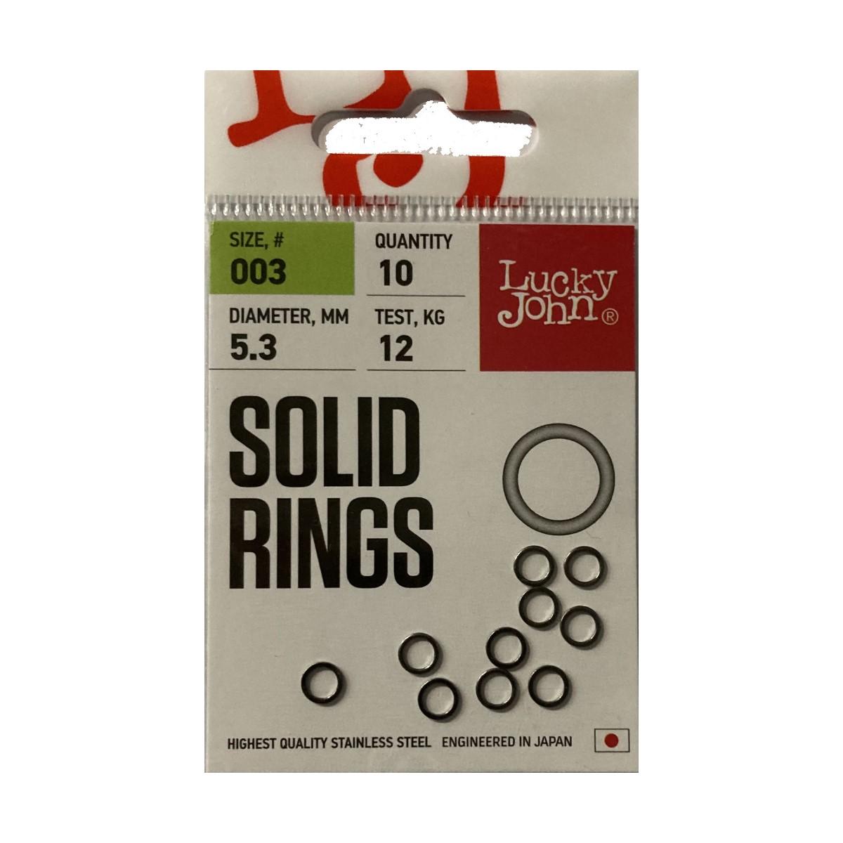 Риболовна халка Lucky John Solid Rings
